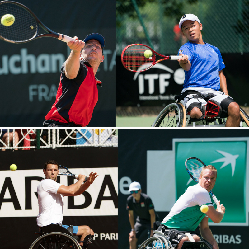 Le choc du jour : F.Cattaneo (FRA) / T.Sanada (JPN) [2] vs J.Gérard (BEL) / M.Scheffers (HOL) [1] (English Version below)